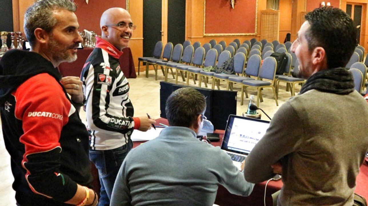 DUCATI Sardinia DOC - Rehearsal for the great celebration | Photo: Armin Hoyer - arminonbike.com