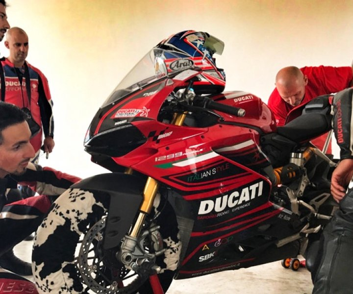 DUCATI Sardinia DOC - Test Day and Challenge Mores | Photo: Armin Hoyer - arminonbike.com
