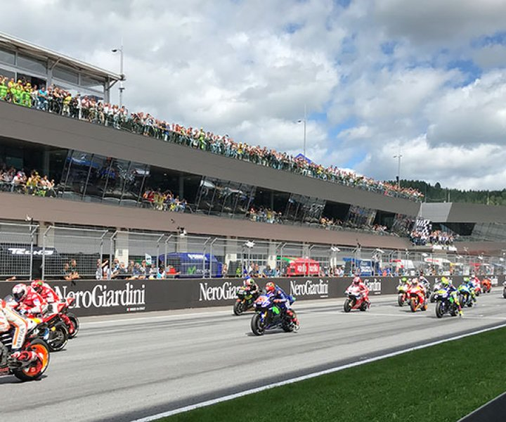 Start MotoGP Austria | Photo: Armin Hoyer - armiinonbike.com