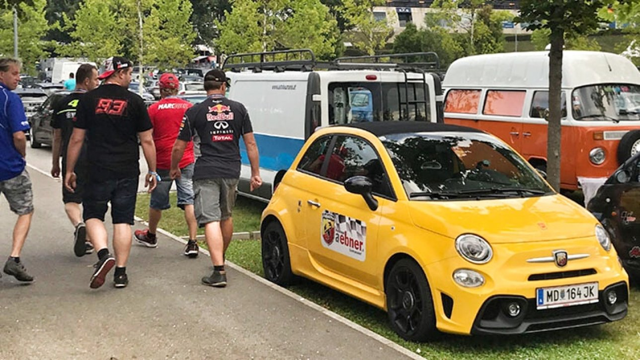 Abarth 595 Pista at Red Bull Ring | Photo: Armin Hoyer - arminonbike.com