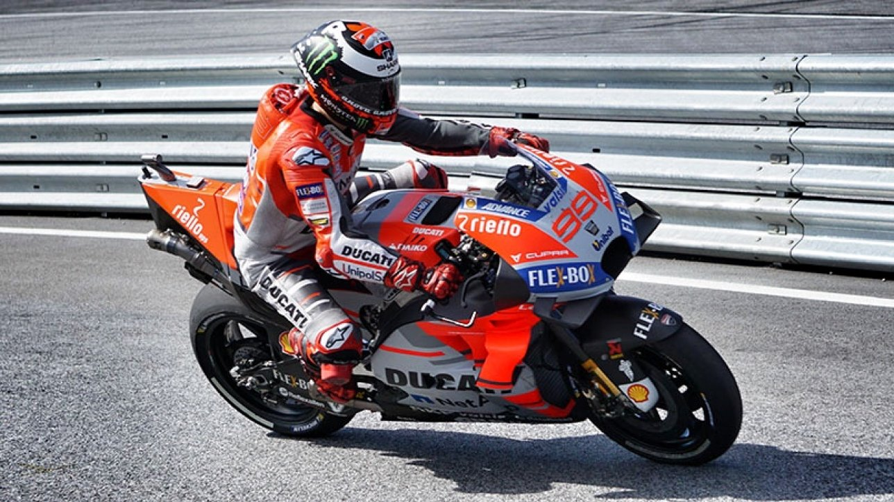 Jorge Lorenzo MotoGP Warm Up | Photo: Armin Hoyer - arminonbike.com