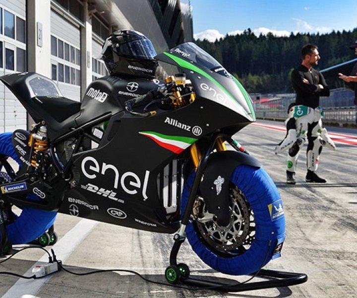 MotoE - Energica Ego Corsa - Alessandro Brannetti - Nicolas Goubert | Photo; Armin Hoyer - arminonbike.com