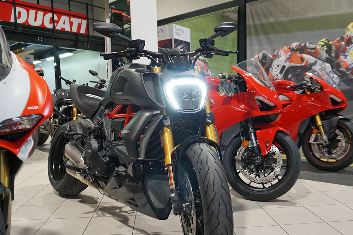 Ducati Power Cruiser reloaded | Testing the new Diavel 1260