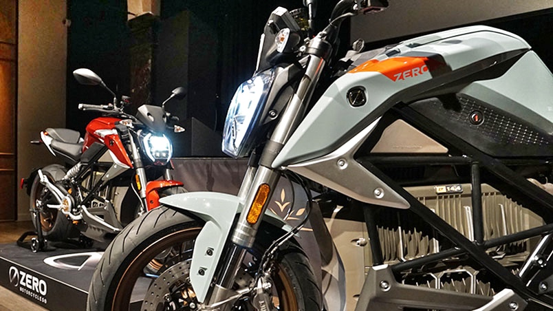 Electric premiere in Amsterdam   Zero Motorcycles unveils