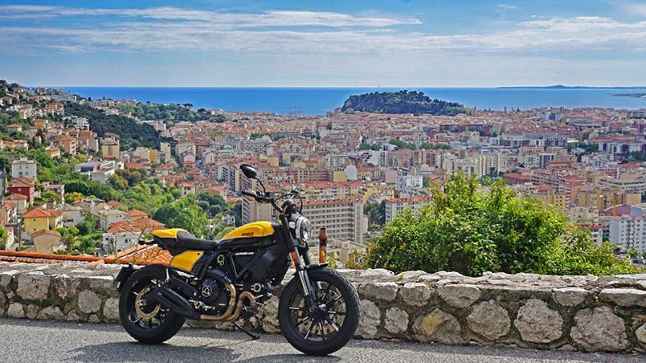 Scrambler Ducati Grande Corniche Nice | Photo: Armin Hoyer - arminonbike.com