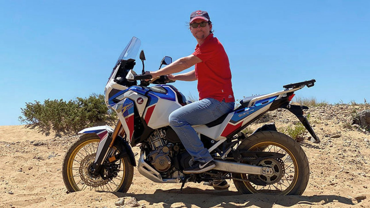 Arimin on Honda CRF1100L Africa Twin Adventure Sports  | Photo: Armin Hoyer - arminonbike.com