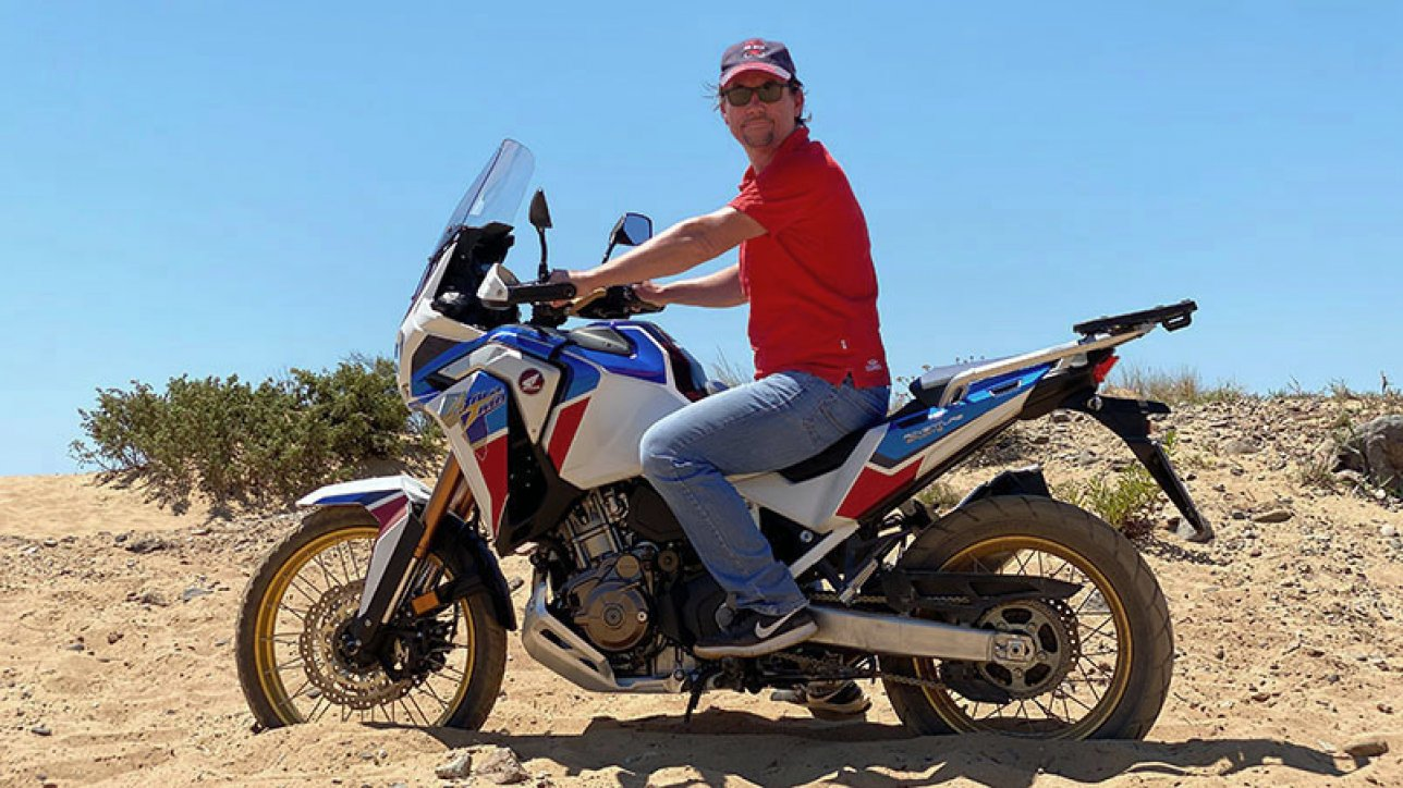 Armin on Honda CRF1100L Africa Twin Adventure Sports | Photo: Armin Hoyer - arminonbike.com