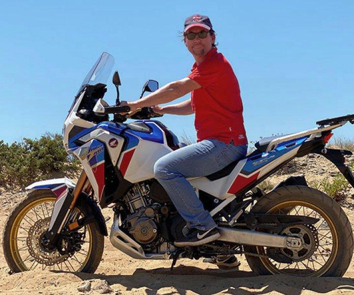 Armin on Honda CRF1100L Africa Twin Adventure Sports | Photo: Armin Hoyer - arminonbike.com