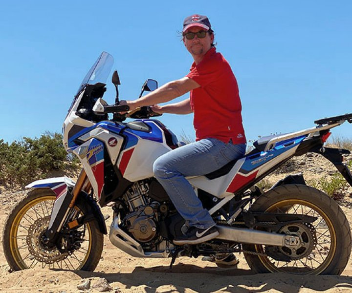 Arimin on Honda CRF1100L Africa Twin Adventure Sports  | Photo: Armin Hoyer - arminonbike.com