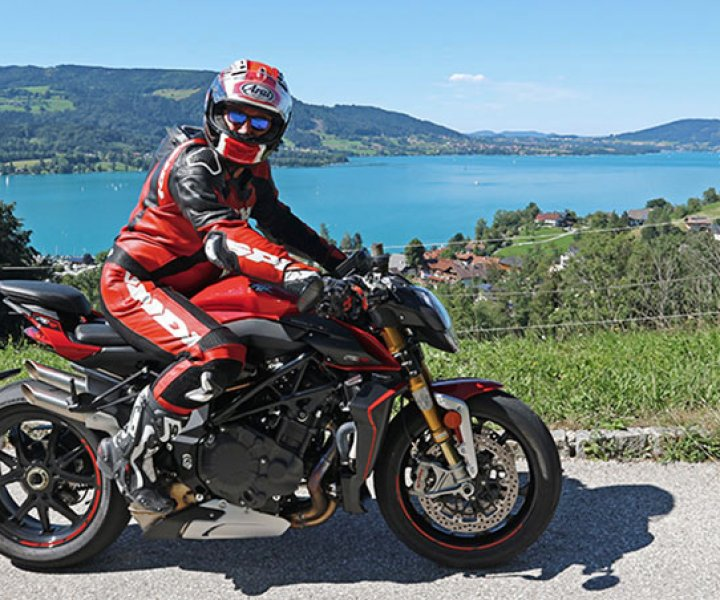 Armin on MV Agusta Brutale 1000 RR | Photo: arminonbike.com