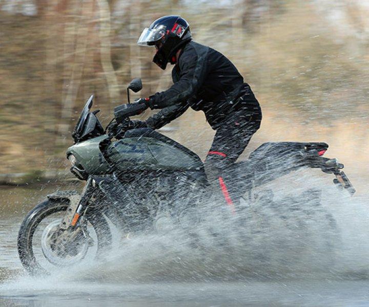Armin on Harley-Davidson Pan America | Photo: Alessio Barbanti