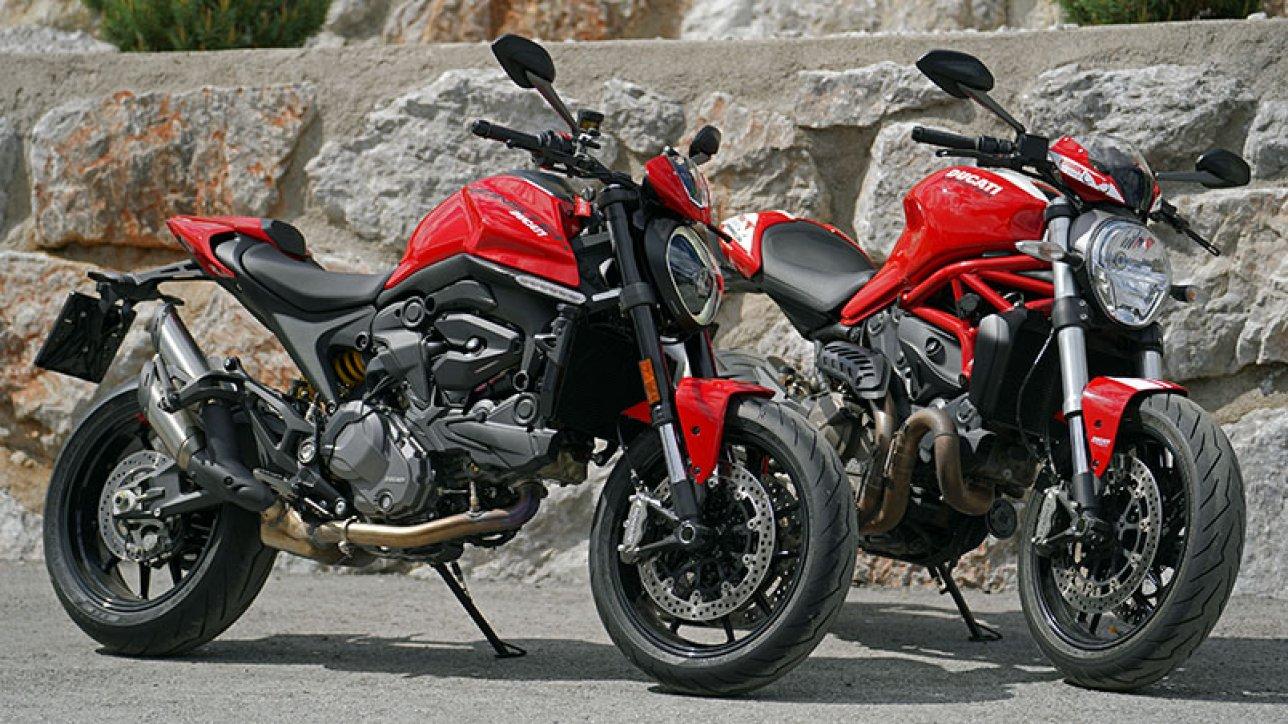 Ducati Monster Plus and 821 Stripe | Photo: Armin Hoyer - arminonbike.com